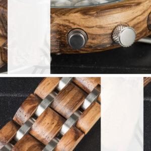 Bambou Montre En Bois Femme – Argenta