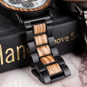 Montre Avec Bracelet En Bois – Dobla