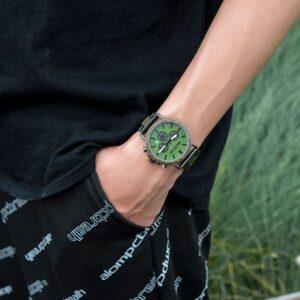 Montre De Luxe En Bois – Verde